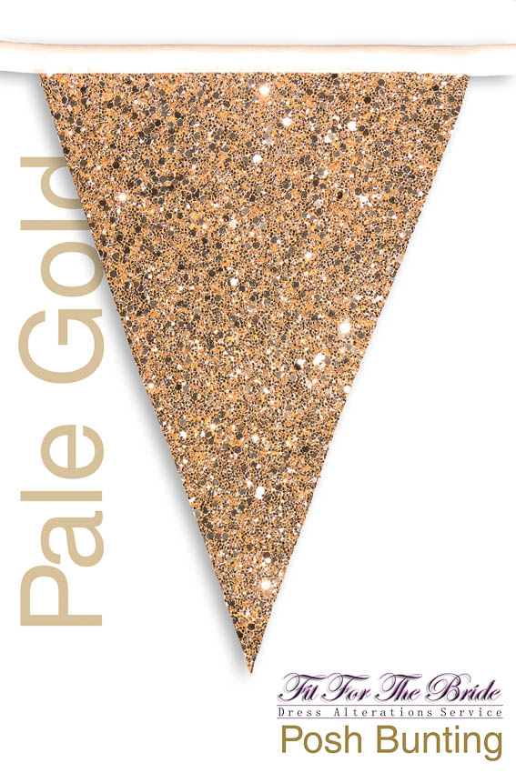Posh Bunting - Pale Gold